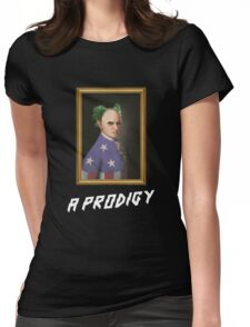 Mozart -  A Prodigy Womens Fitted T-Shirt