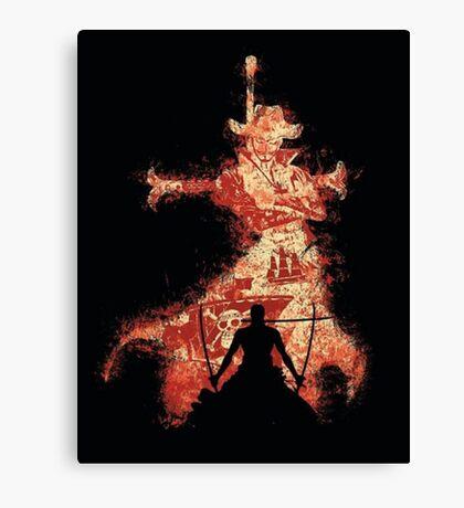 Mihawk Zorro Canvas Print
