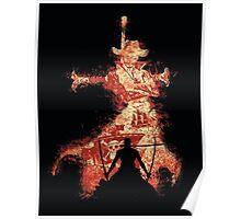 Mihawk Zorro Poster