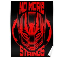 No More Strings (Vintage Effect) Poster