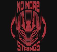 No More Strings (Vintage Effect) by DemonigoteTees