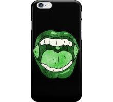 halloween mouth iPhone Case/Skin