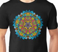 Psychedelic jungle kaleidoscope ornament 31 Unisex T-Shirt