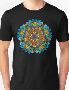 Psychedelic jungle kaleidoscope ornament 31 T-Shirt