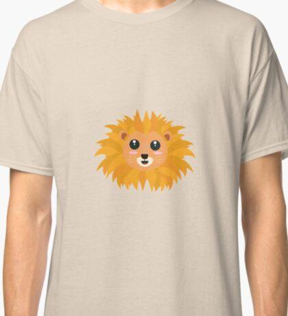 Kawaii lion head Classic T-Shirt