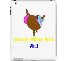 jeremy hillary boob iPad Case/Skin