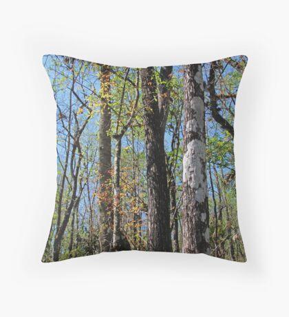 Cypress Poem Throw Pillow