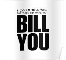Bill You Poster