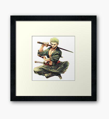 Zorro Framed Print