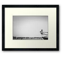 End of the Line (2011) Framed Print