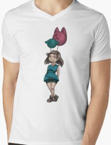 My friends the balloons Mens V-Neck T-Shirt