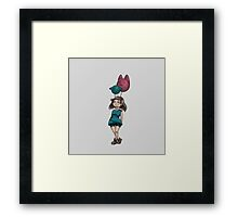 My friends the balloons Framed Print