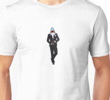 SHARK IN TUXEDO MAN Unisex T-Shirt