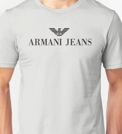 armani jeans new Unisex T-Shirt