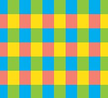 Colourful Squares by ArtfulDoodler
