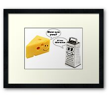 Cheese Grater  Framed Print