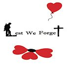Lest We Forget - Banksy Poppy by rettop70