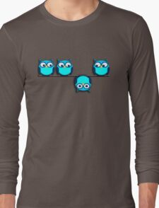 A whole different perspective for the owl Long Sleeve T-Shirt