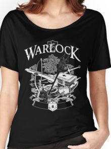 RPG Class Series: Warlock - White Version Women's Relaxed Fit T-Shirt