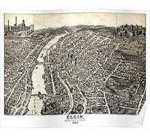 Elgin - Illinois - 1880 Poster