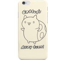 Bravest Warriors ~ Catbug's Away Team iPhone Case/Skin