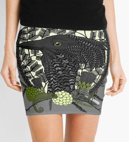 Kori Bustard (Ardeotis Kori) Mini Skirt