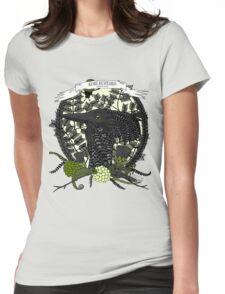 Kori Bustard (Ardeotis Kori) Womens Fitted T-Shirt