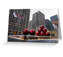 A Christmas Card from New York City - Fifth Avenue Sophistication Greeting Card