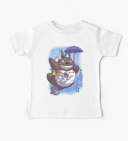 Totoro in Flight Baby Tee