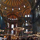 Hagia Sophia museum by Nancy Richard
