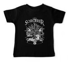 RPG Class Series: Sorcerer - White Version Baby Tee