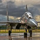 Flanker in the Rain by Colin Smedley