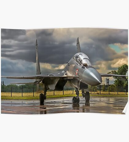 Flanker in the Rain Poster
