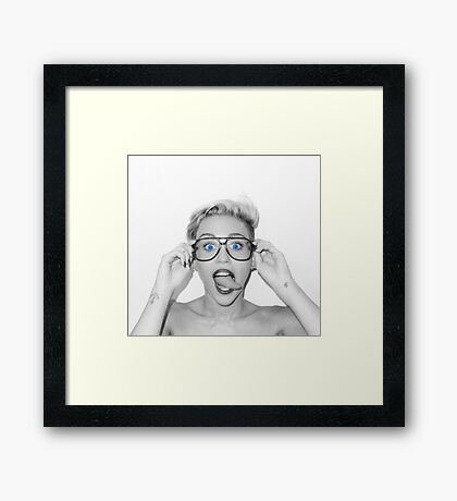 Mrs. Cyrus Framed Print