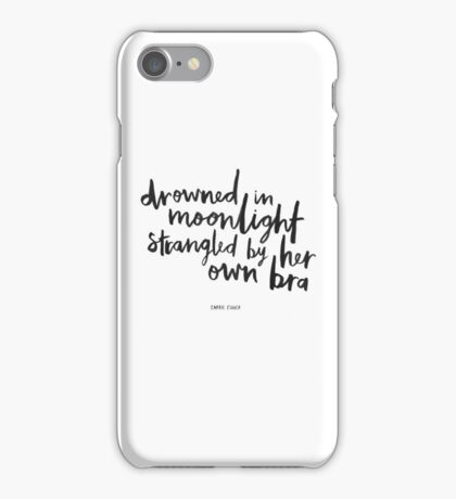 Drowned In Moonlight iPhone Case/Skin