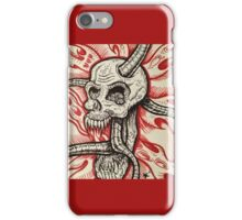 BioMech Skull iPhone Case/Skin