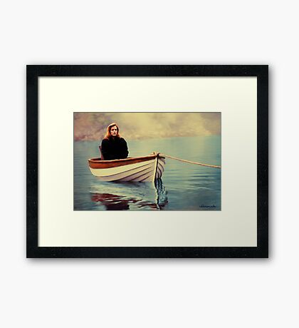 One Breath painting Framed Print