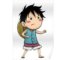 Chibi Luffy Small One Piece Poster
