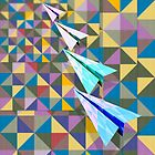 Paper Airplane 70 by YoPedro