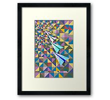 Paper Airplane 70 Framed Print