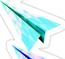 Paper Airplane 70 Sticker