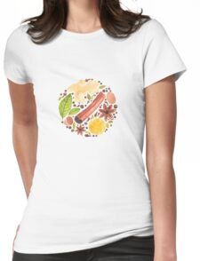 Spices and herbs Womens Fitted T-Shirt