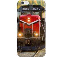 Pend Oreille Valley Area Railroad Engine #8310 iPhone Case/Skin