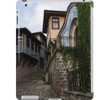 Steep and Twisting Cobblestone Street iPad Case/Skin