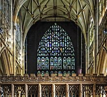 York Minster Quire by Tom Gomez