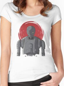 One Droid Women's Fitted Scoop T-Shirt