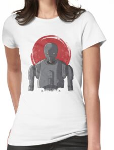 One Droid Womens Fitted T-Shirt