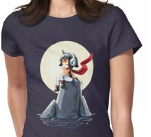 Moonlight Sonata Womens Fitted T-Shirt