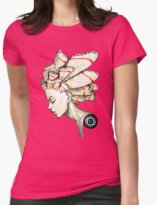 Moth 2 Womens Fitted T-Shirt