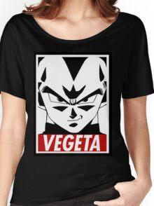 Vegeta ssj blue Women's Relaxed Fit T-Shirt
